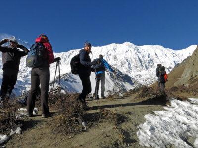 Trek kolem Annapurny 2018 / Cesta na Tillicho Lake. Není na světe moc tak hezkých míst. Za mne to má hodně bodů.