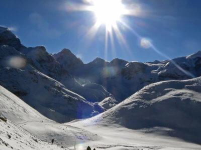 Trek kolem Annapurny 2018 / Cesta do sedla. Není na světě mnoho takových zábavných míst. Aspoň pro některé z nás. Ale všichni se kousli a šlo to.