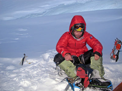 Annapurna 2012 / Pochodovat k vrcholu jsme začali ve 21h, druhý den dopoledne vrchol a zpátky v 7 000m až navečer.