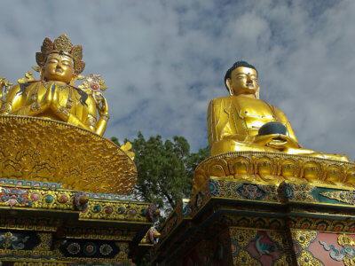 Everest trek 2017 / Užíváme si nejen budhistické památky v Kathamndu.
