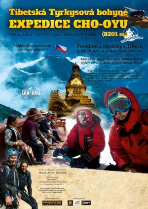 """Motivační """"týmová"""" přednáška o expedici Cho Oyu (8201 m)"""