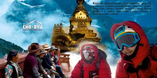 Tibetská Tyrkysová bohyně / Expedice Cho Oyu (8201 m)