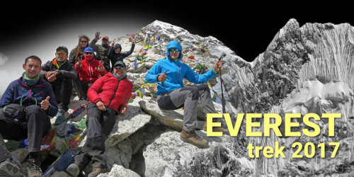 Everest trek 2017