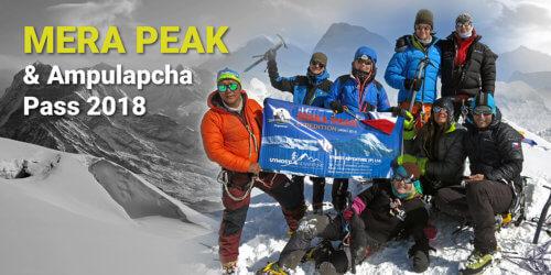 """Nepálské jaro II / """"Expedice"""" Mera Peak asedlo Ampulapcha Pass 2018"""