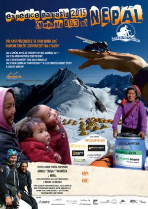 Expedice Namáslu 2015 (Manaslu 8163 m) – Hora Ducha