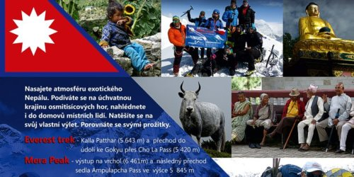 Treky, výlety a další nejen extrémní dobrodružství... třeba NEJ NEJ NEJ treky Nepál