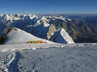 Poslední výškový tábor C4 ve výšce 7400 m