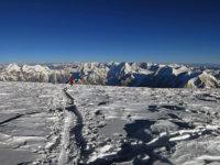Rozhledy zvýšky cca 7600 m, kde pro letošek končíme
