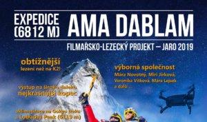 Expedice Ama Dablam jaro 2019